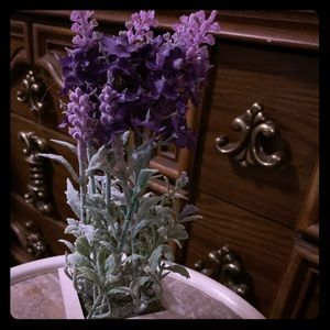 Other - Faux lavender plant